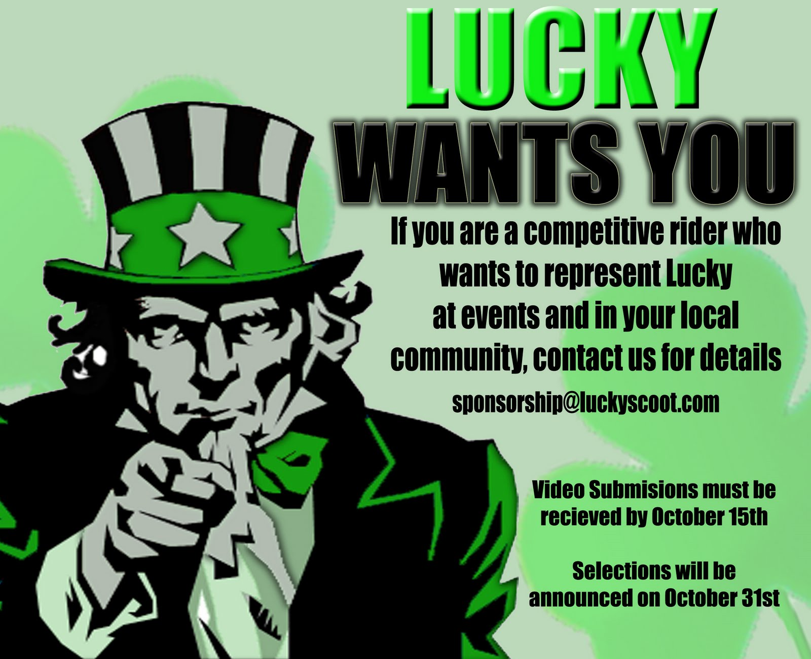 Lucky scooters logo