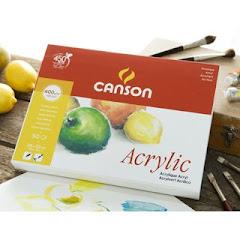 Bloco para acrilico da Canson