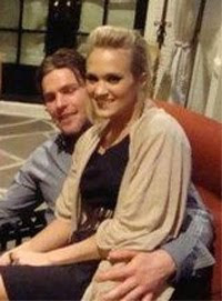 The celebrity weddings blog carrie underwood fiance 39 s a for Who is carrie underwood married too
