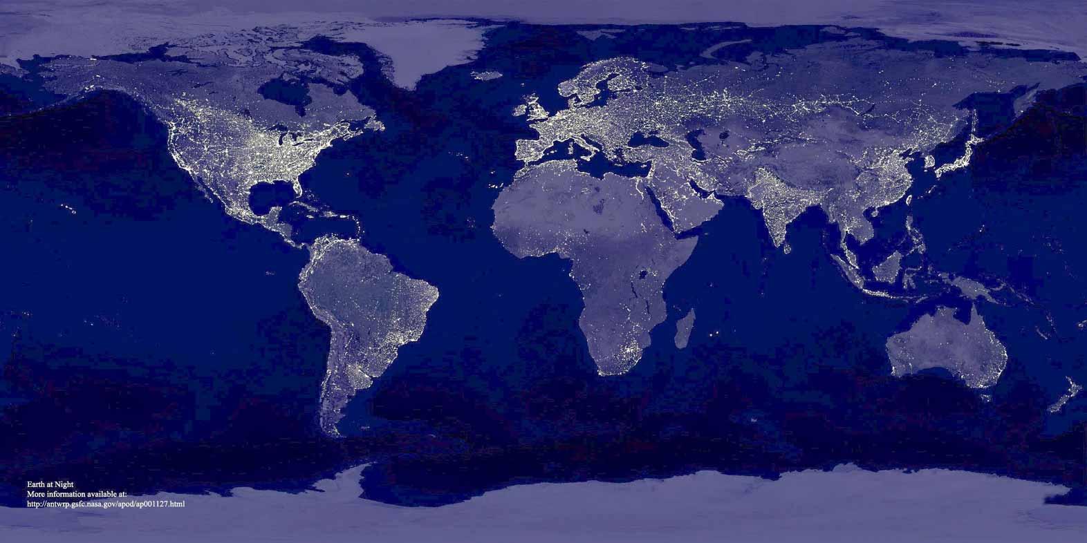 ver el mundo de noche: