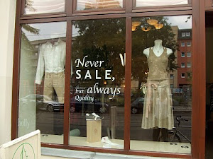 Salefernster: No Sale!