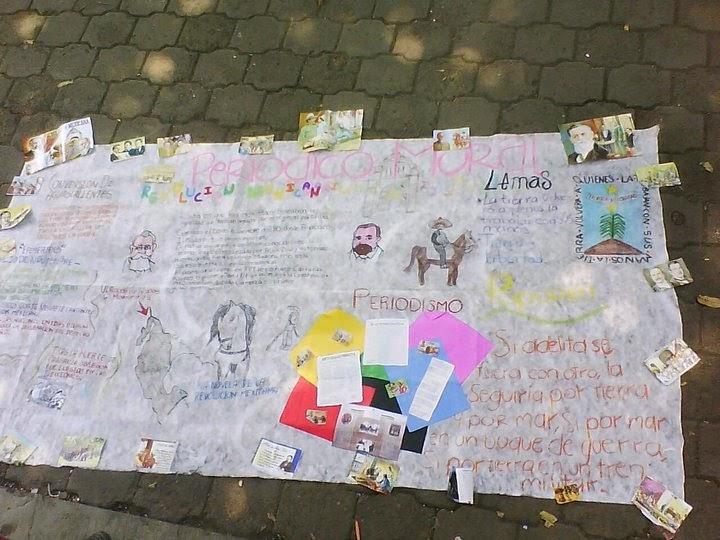 Reliquias de la historia periodico mural for Articulo de cultura para periodico mural