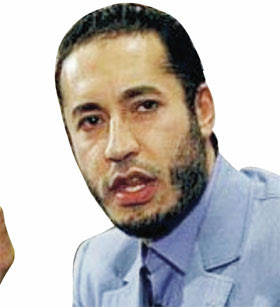 Al-Saadi Gaddafi (Sohn von Muammar Al-Ghaddafi)