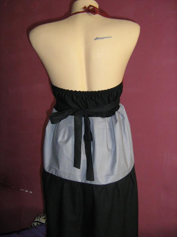 spate rochie: are elastic si se strange cu cordon