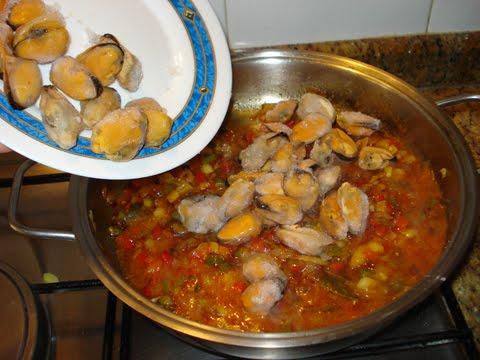 Cocinar Mejillones Congelados   La Cocina De Piluchi Paso A Paso Mejillones A Mi Manera