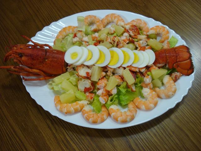 Ensalada de bogavante - Salsa para bogavante cocido ...