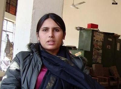 RAMA LAKSHMI/WASHINGTON POST FILE PHOTO:   Sabra Ahmadzai has wedding photos and videos, but the Indian army says there are discrepancies in her case against Maj. Chandrashekhar Pant.