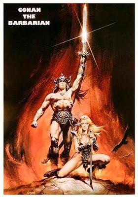 Introduções e/ou Narrativas em filmes Conan-the-Barbarian-italian-Movie-Poster-C10076453