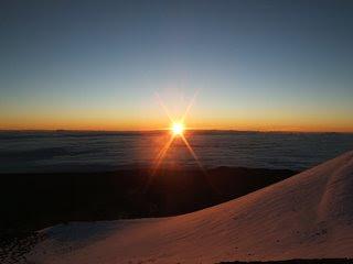 Sunrise @ Mauna Kea