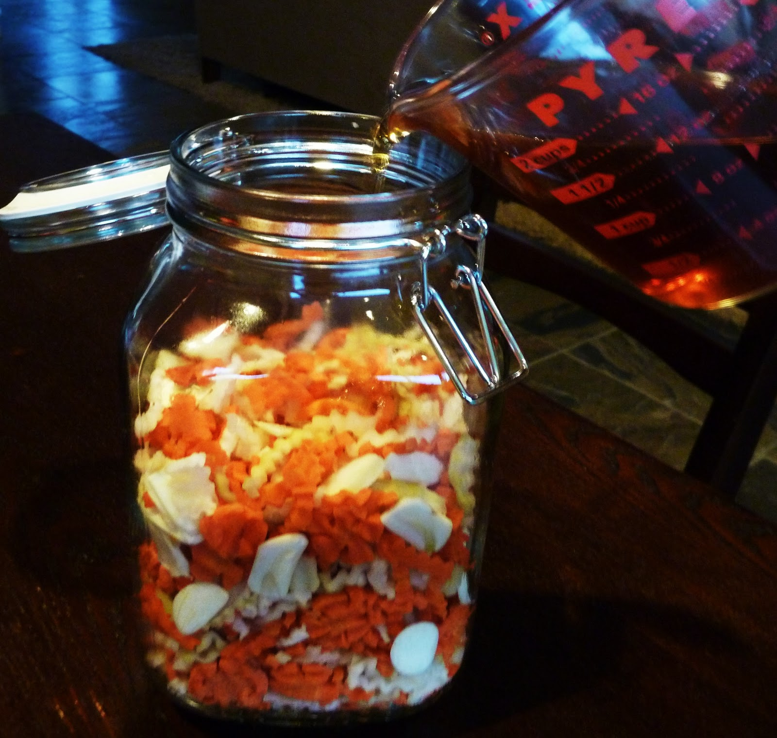 The spices of life d a m n pickled vegetables in for Fish in a jar