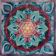 The heart mandala by Susan