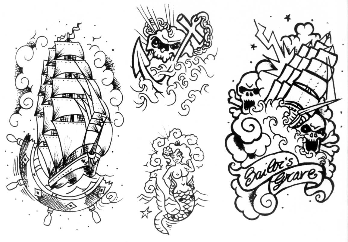 Belagoria old school for Traditional old school tattoo designs