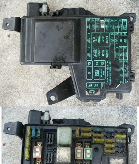 Kancil Fuse Box Diagram : Perodua kancil fuse box wiring diagram images