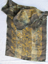 Silk Shibori Scarf  Ref #0100503