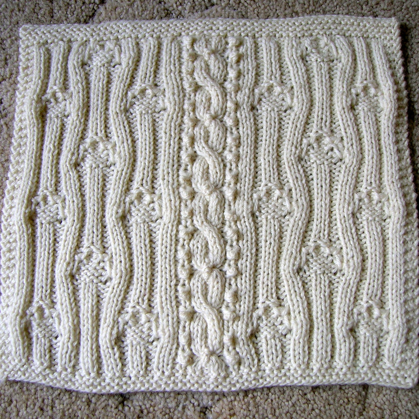 Unusual Knitting Techniques : Passion for knitting the great american afghan