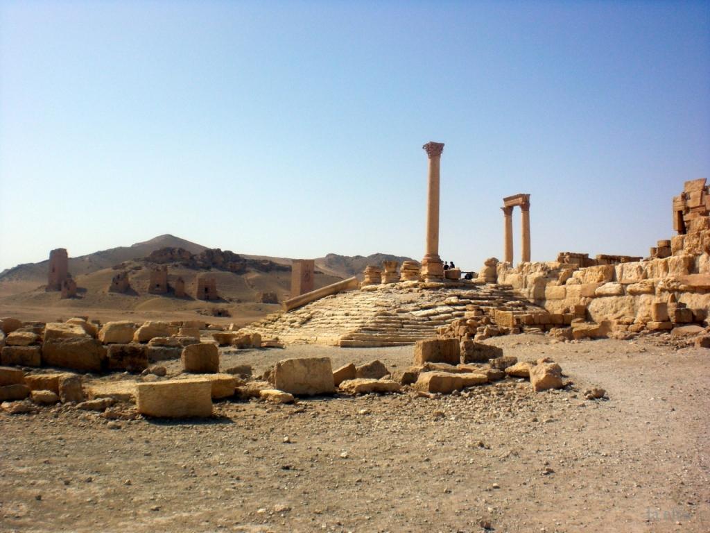 the little goldfish: Palmyra, the bride of the desert