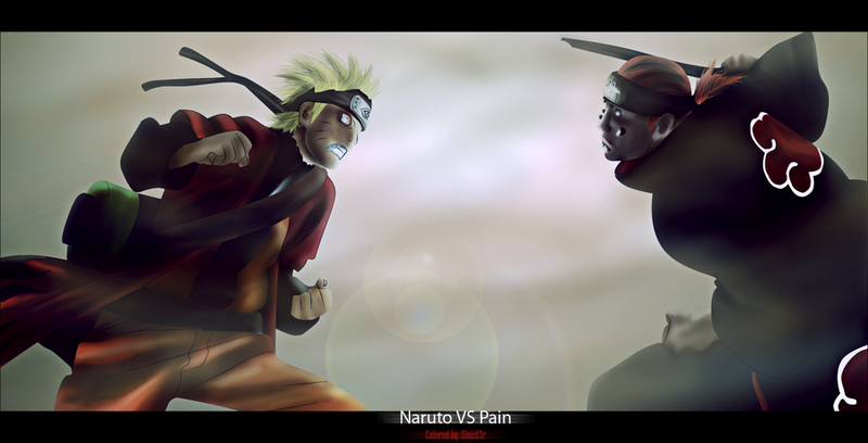 naruto shippuden vs pain. ¨The Six Paths of Pain¨