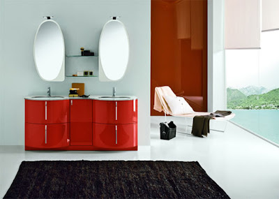 red-retro-bathroom-furniture