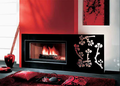 fireplace-picture-with-red-and-black-color-combination