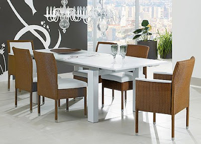 Modern-dinning-table-style