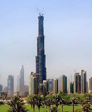 Burj-Dubai-the-highest-tower-in-the-world