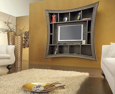 How-to-create-modern-home-theater-with-Decorative-TV-Frames