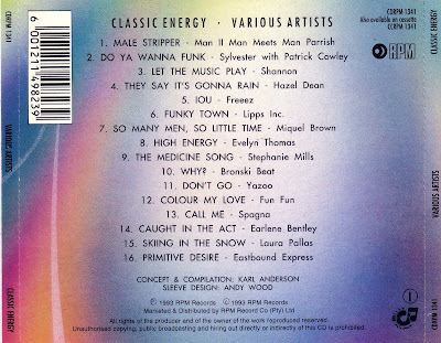 Classic Energy - x16 Hi-NRG Classics!