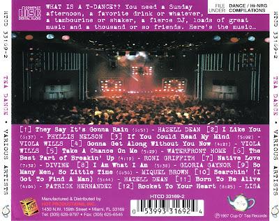 Tea Dance - Volume 1 [non-stop 80's Hi-Nrg Club Mix]