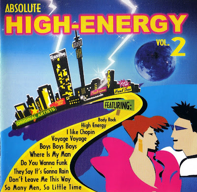 Absolute High-Energy - Volume 2 (2CD Set) [non-stop mix] various artists Hi-NRG Eurobeat 80's