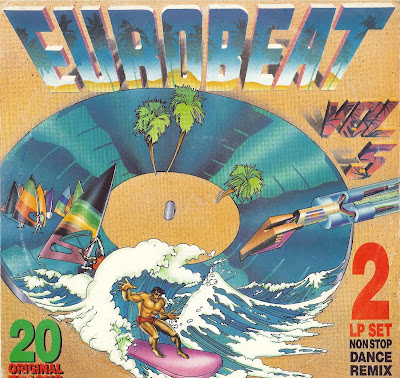 EUROBEAT - Volume 5 (90 Minute Non-Stop Dance Remix) (2LP Set) 1988 Various Artists Hi-NRG Italo Disco 80's Classic