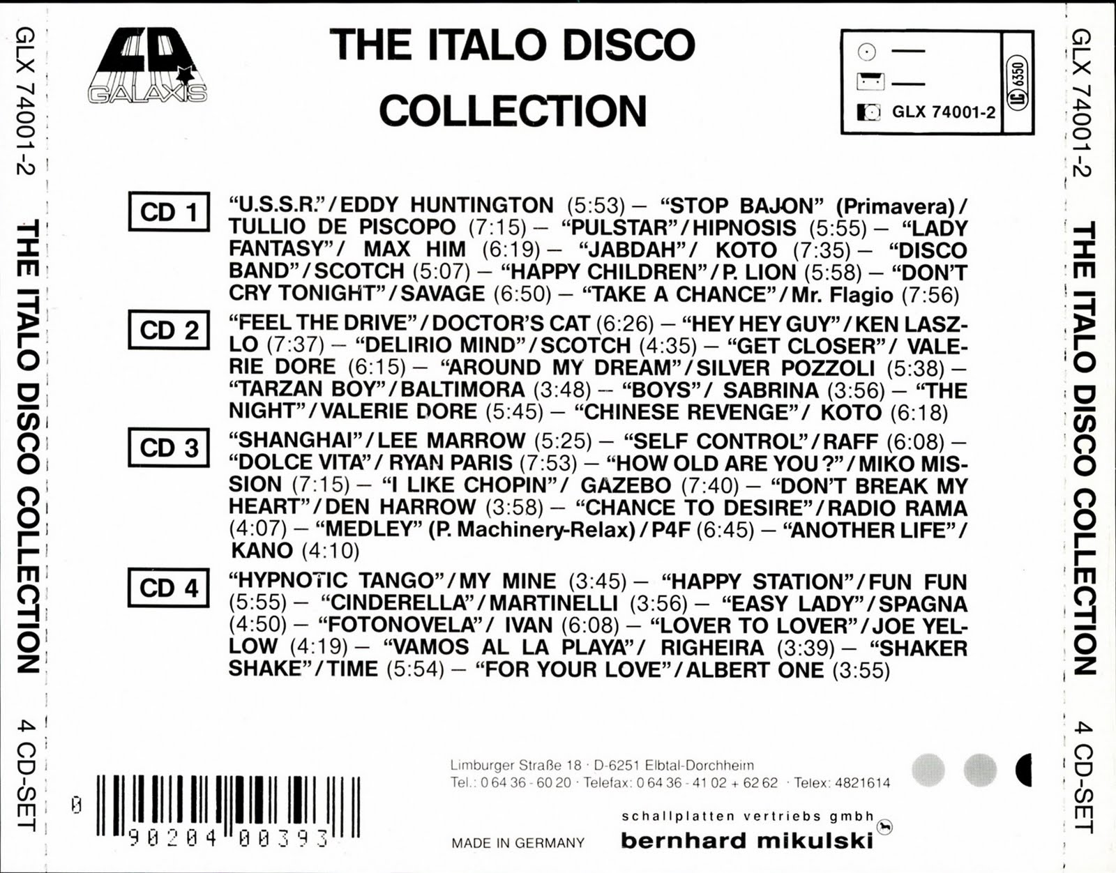 Retro disco hi nrg august 2010 for Classic italo house zenhiser