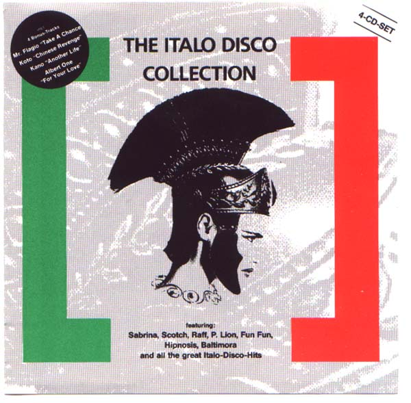 Italo disco collection x4cd box set 80 39 s dance classic for Classic italo house zenhiser