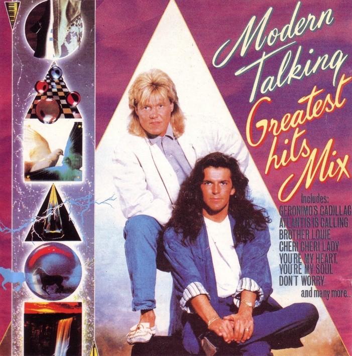 retro disco hi nrg modern talking quot greatest hits mix non stop medley quot album 1988 hi nrg 80