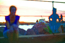 Sunset by the billion dollar floaty boaties, Port Hedland