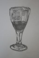Wine glass - pencil