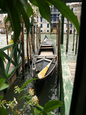 as I love moving about Venice by vaporetto, an even more Venetian way to