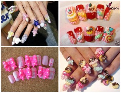 A special trend in modern Japanese fashion is Japanese nail art