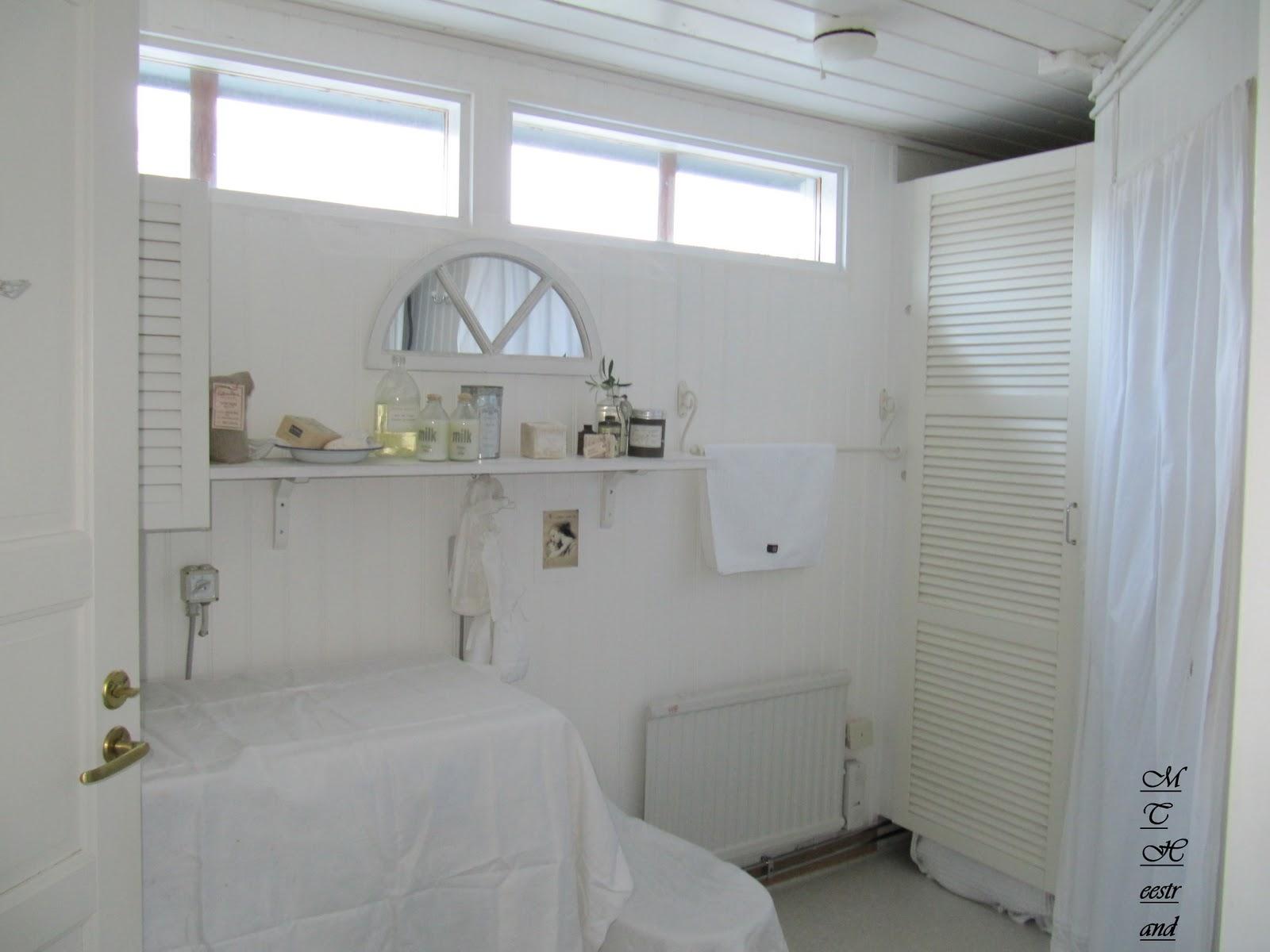 Det mysiga heestrand: badrum