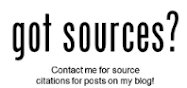 Sources are available for my blog posts