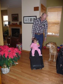 Having fun with grandpa!