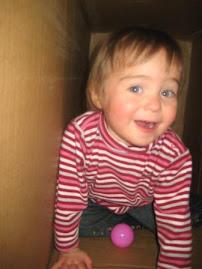 Having some fun in the stroller box