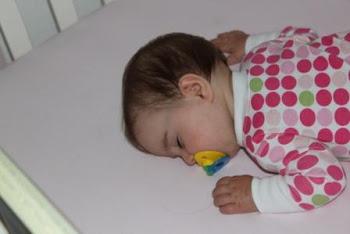 Sleeping sweetly