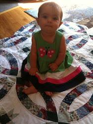 Sophia sitting pretty