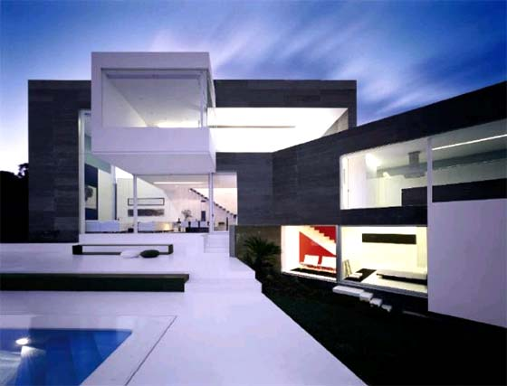 My sim style la extructura triangular shape house de a - A cero joaquin torres ...