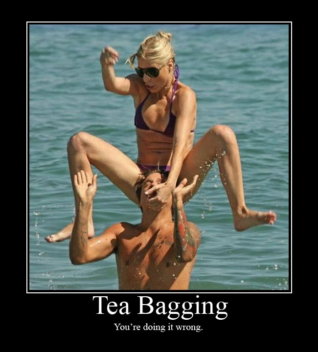 Tea bag sexual act