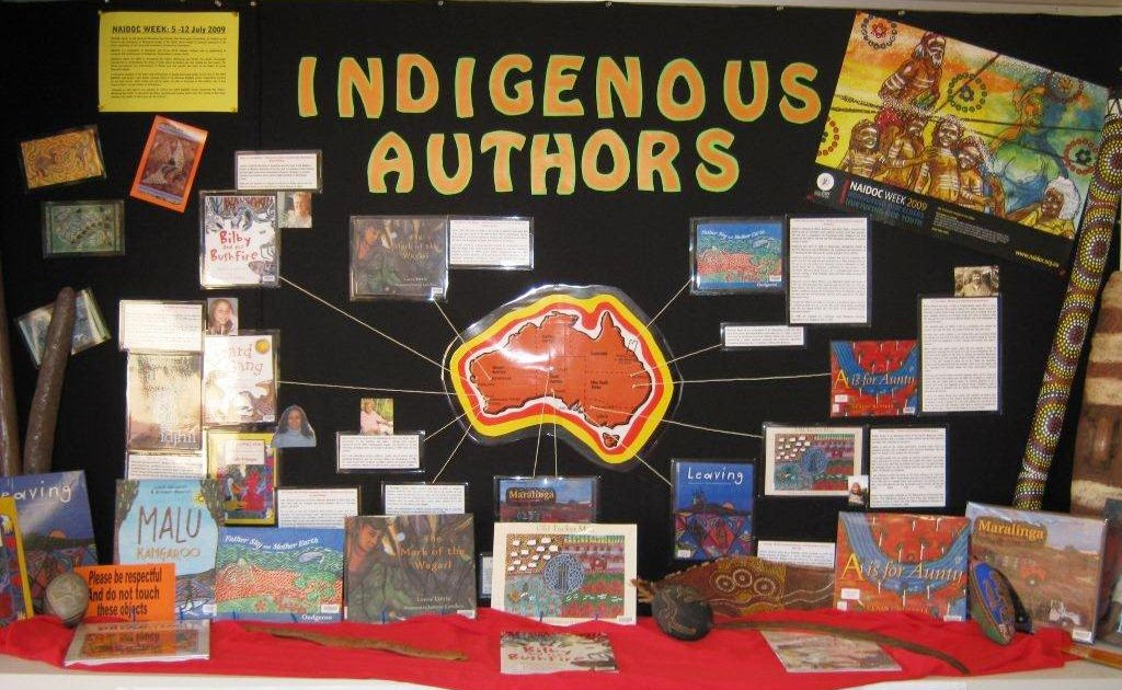 Library Displays Australia Indigenous Authors