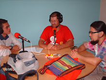 RAJULI Y LA VOZ DE MANAURE DE VISITA EN RADIO ECOS EN MERIDA