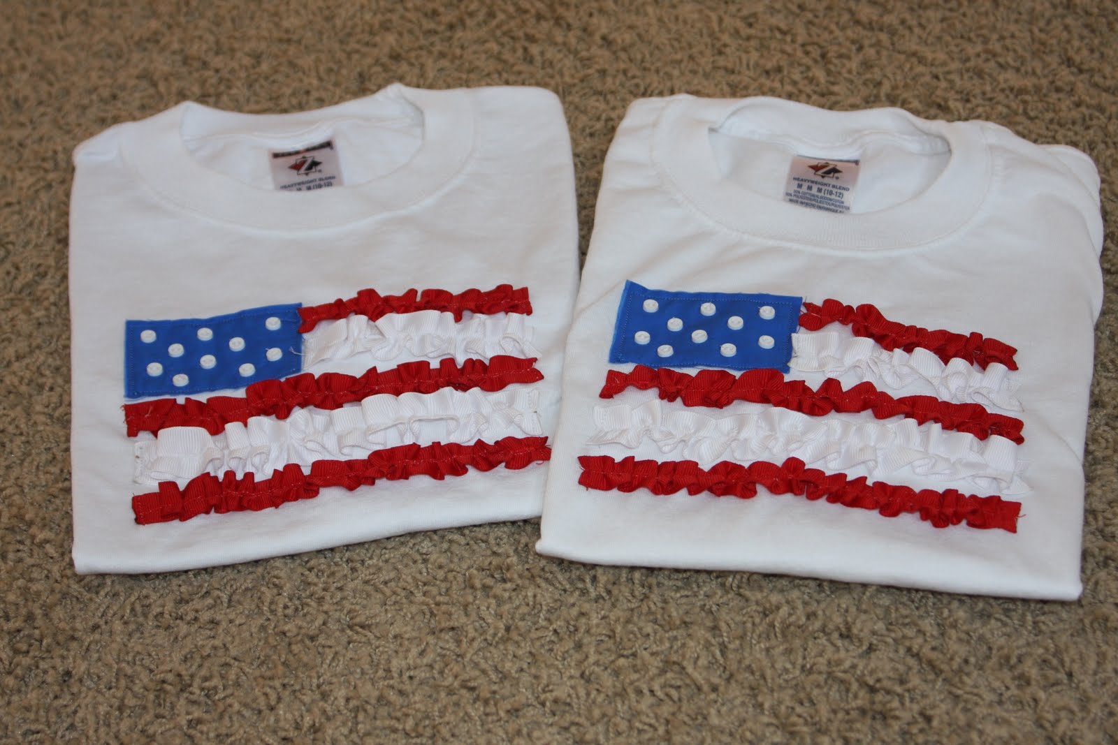 Monkeys In My Bed 4th Of July T Shirts