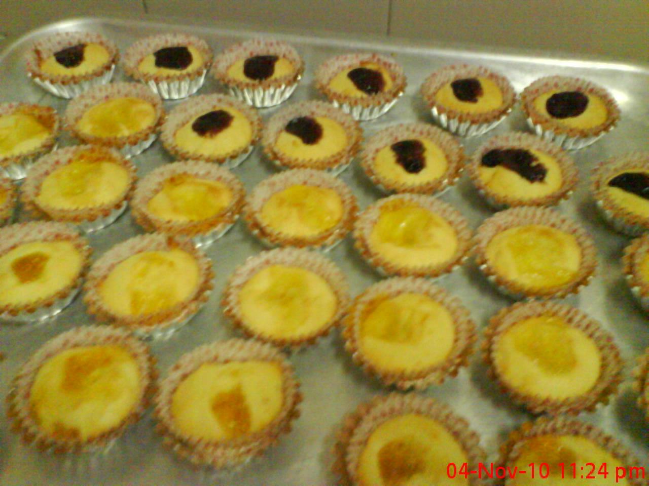 adnazthie kek muffin beri biru nenas n oren percubaan 1
