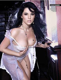 aparecer desnuda y en topless en la portada e interiores de la revista